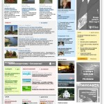 Сайт информационно-аналитического портала tio.by (газета «Туризм и отдых»)