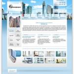 Сайт компании «Еврофасадсервис»