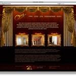 Сайт салона штор «ЭленСтиль»